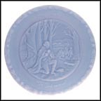 In God We Trust - Blue Collector Plate