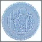 Proclaim Liberty Throughout All The Land - Blue Collector Plate