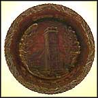 Little Brown Church In The Vale - Carnival Collector Plate by Anthony Roscia