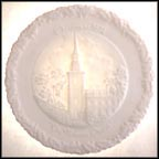 The Nation's Church - White Satin Collector Plate