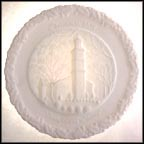 Birthplace Of Liberty - White Satin Collector Plate