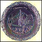 The Old North Church - Carnival Collector Plate by Anthony Roscia