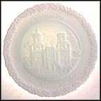 San Xavier del Bac - White Satin Collector Plate