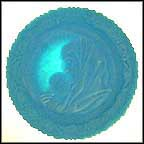 Madonna With Sleeping Child - Blue Satin Collector Plate