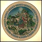 Magi Collector Plate by Fritz Wegner
