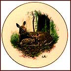 Whitetail Deer Collector Plate by Don Balke