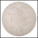 Symbols Of Freedom Collector Plate by Joniece Frank MAIN