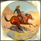 The Cowboy Collector Plate by Frederic Remington