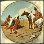 The Smoke Signal Collector Plate by Frederic Remington
