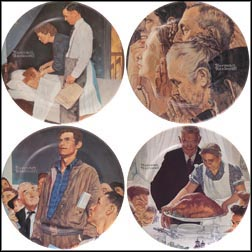 Four Freedoms Metal Plates - Set of 4 Collector Plate by Norman ...