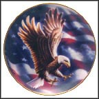 The American Eagle Plate Collector Plate by Ronald Van Ruyckevelt MAIN