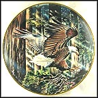 Freedom's Flight Collector Plate by Ronald Van Ruyckevelt