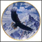 On Freedom's Wing Collector Plate by Ronald Van Ruyckevelt MAIN