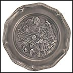 Battle Of Bunker Hill - 1775 Collector Plate by Alton S. Tobey