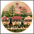 Spring Festival Collector Plate by Jane Wooster Scott MAIN