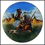Family Of The Plains Collector Plate by Paul Calle