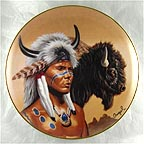 Spirit of the Buffalo Collector Plate by Gary Ampel MAIN
