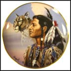 Spirit Leader Collector Plate by Gary Ampel