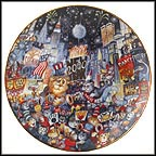 Ring In The Mew Millennium Collector Plate by Bill Bell