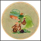 Making Friends Collector Plate by Deborah Bell Jarratt