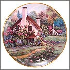 A Cozy Glen Collector Plate by Violet L. Schwenig