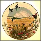 Wheatfields In August Collector Plate by Peter Barratt MAIN