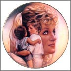 Queen Of Compassion Collector Plate by Drew Struzan