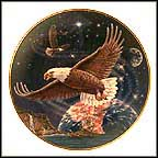Protector Of The Cosmos Collector Plate by Edward J. Moret MAIN