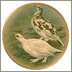 Rock Ptarmigan Collector Plate by Basil Ede MAIN