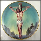 The Crucifixion Collector Plate by Antonio Barzoni
