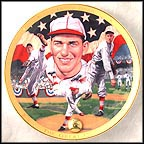 Dizzy Dean - The Great One Collector Plate by James Auckland