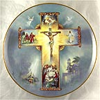 The Life Of Christ Collector Plate by Bar Zoni MAIN