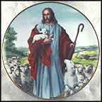 The Lord Is My Shepherd Collector Plate by Alton S. Tobey
