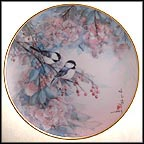 Song Of The Cherry Blossom Collector Plate by John Cheng