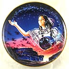 Maiden of the Evening Stars Collector Plate by David Penfound