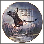 I Heard An Eagle Calling Collector Plate by Ted Blaylock MAIN