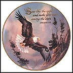Soar Like The Eagle Collector Plate by Ted Blaylock MAIN