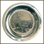 Brandywine Battlefield Collector Plate by James Wyeth MAIN