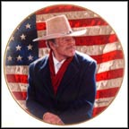 John Wayne, Cowboy Legend Collector Plate by Robert Tanenbaum