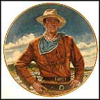 John Wayne, The Duke Collector Plate by Robert Tanenbaum