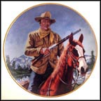 John Wayne, High Country Collector Plate by Robert Tanenbaum