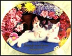 Friendship Blossoms Collector Plate by Nancy Matthews MAIN