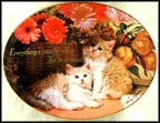 Everything's Peachy Collector Plate by Nancy Matthews