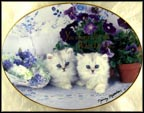 True Blue Friends Collector Plate by Nancy Matthews