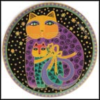 Cherished Felines Collector Plate by Laurel Burch