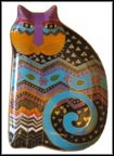 Tapestry Tabbies Collector Plate by Laurel Burch