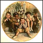 The Little Rascals Collector Plate by Drew Struzan