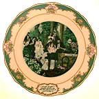 Christina Rosetti Collector Plate by John Speirs