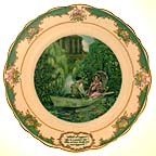 William Shakespeare Collector Plate by John Speirs