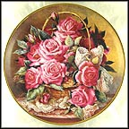 Grace De Monaco Rose Plate Collector Plate by Katharine Austen
